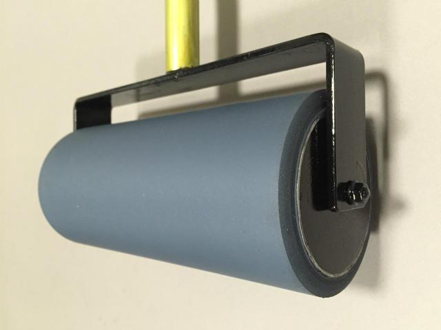 NEW平版ゴムローラー 規格品部品 φ11cm×27cm ゴムローラーを流用