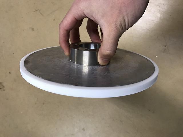 円盤型のシリコンローラー