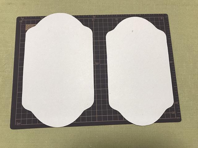 マネートレイ製作に使用する型紙