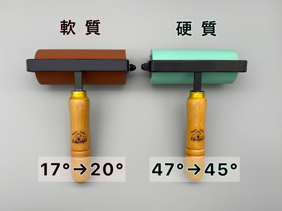 ゴム手ローラー / 軟質・硬質