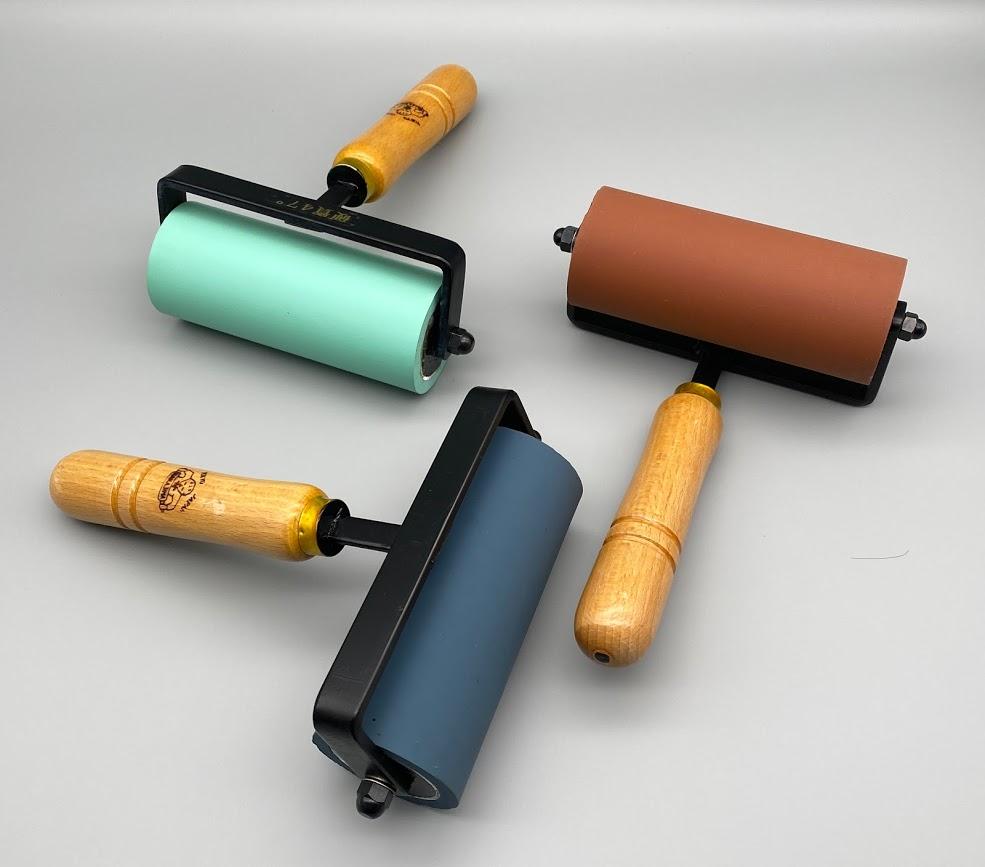ゴム手ローラー 12cm / 硬度3種類
