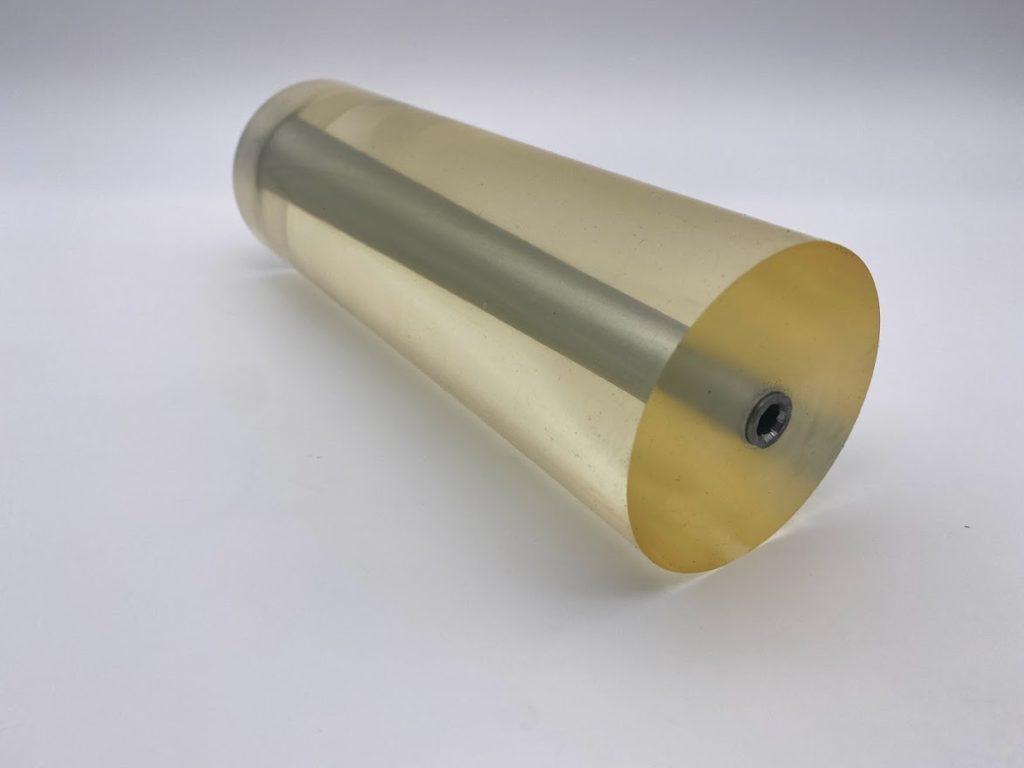 木口木版用ウレタンローラー/ローラー部分 ( 側面から )