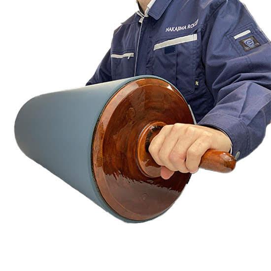 大型NEW平版ゴムローラーの使用イメージ