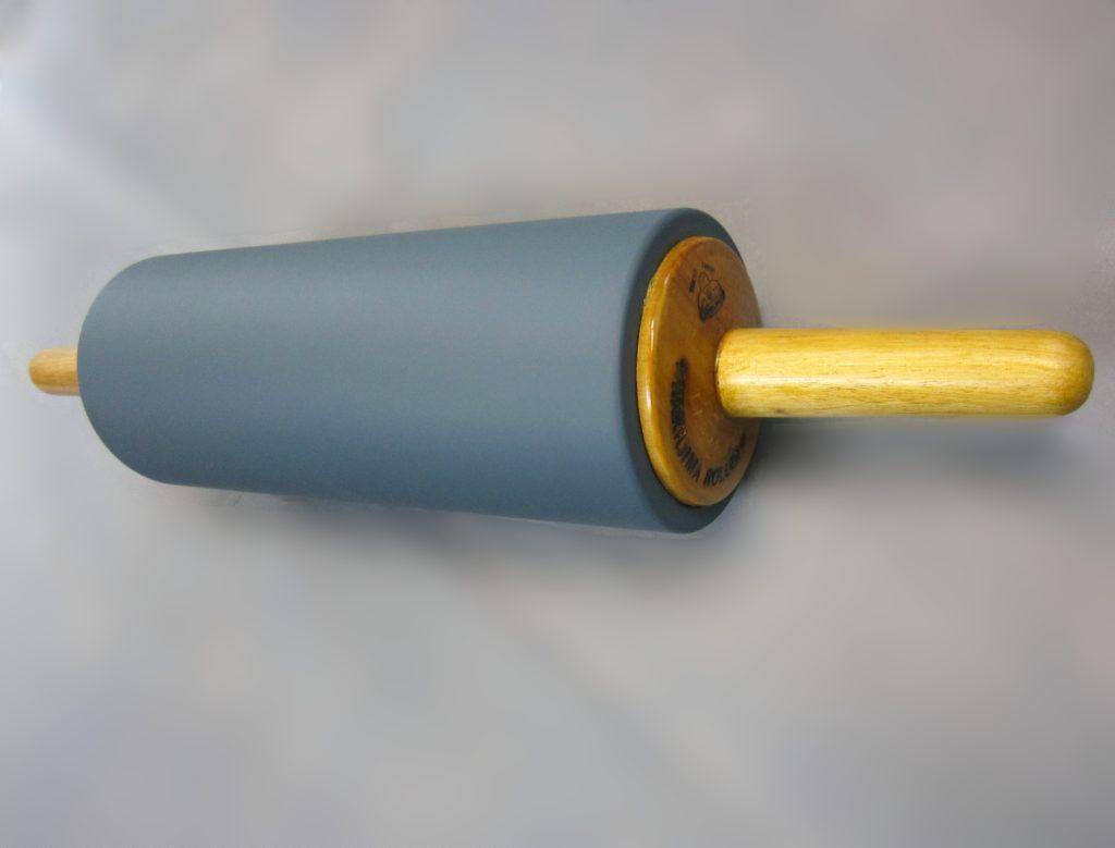 NEW平版ゴムローラー φ11cm×27cm (中質30°)