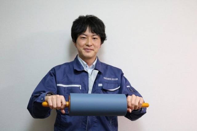 有限会社中島革ゴムローラー製作所 代表取締役社長 中島雄太