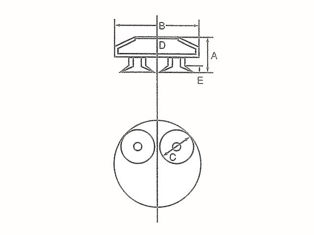給紙ゴムの形状②
